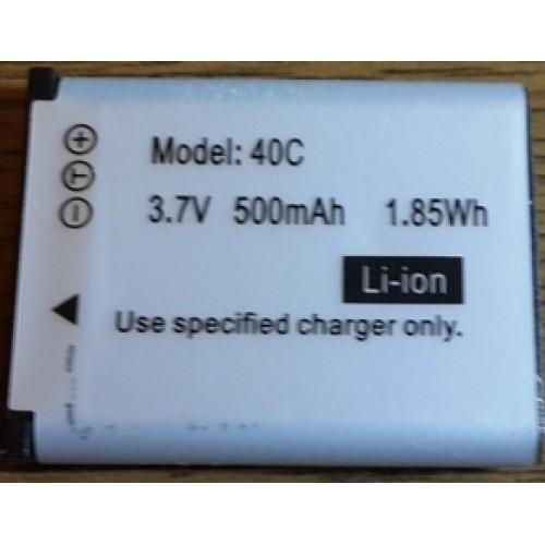 Аккумуляторная батарея для видеорегистратора модель 40с