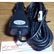 Зарядное устройство для видеорегистратора 6В, miniUSB, 750mAh